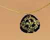 {R} Celtic Gold Pendant