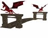 Stone bridge W/Dragons
