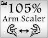 Scaler Arm 105%