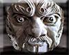 Animated Gargoyle Face