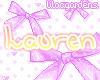 Lauren NameTag