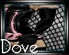 DC! Lush Gloves Black