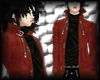 ~K~ Flame red trenchcoat