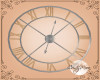 *CM*OAK WALL CLOCK