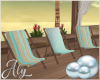 Blue Pearl Deck Chairs
