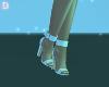 {DP}White Diamond Sandal