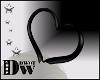 D- Vday Heart Black