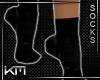 +KM+ Socks Black/Black