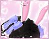 ♡. Blue Bunny Ears