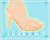 .L. Pumpkin Paw Heels