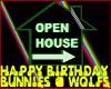 Birthday Bunnies & Wolfs