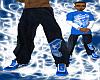 *CA* Dark Blue Jeans