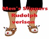 Rudolph reindeer Slipper