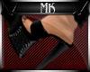 !Mk! Bat Mules Black