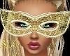 *ALO*Crystal Gold Mask