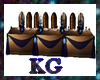 KG*NavyWeddingTable