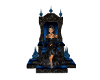 Blue Queen Throne