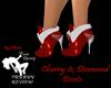Cherry & Diamond Boots