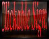 Clickable Sign