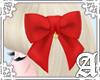 Lovely Ribbon Clip~ Red