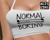 [AZ] Normal Boring top