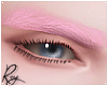Pastel Pink brows by Roy