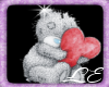 Heart Teddy Clip