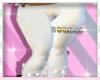 WHITE LEGGINGS BMXXL