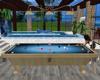 Summer Blue Pool Table