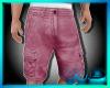 (W) Cargo Shorts Rose