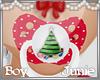 ✿ Christmas Boy Paci