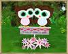 ~H~Valentine Owl Green