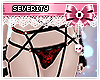 *S Red Lace Panties