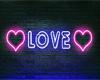 *D* Love Neon Blue Room