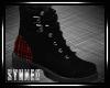 ♥ PlaidPatch Boots (F)