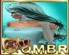 QMBR Long Wavy Aqua