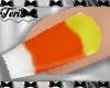 Candy Corn Fingernails