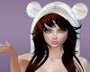 [M]White Fur hat-Brown