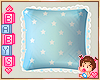 !✿ Baby Blue Pillow *