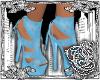 {E}Ice Blue Heels