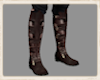 Norse strapped boots brn