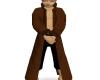 [ML]Layerable brown coat