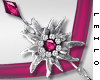 ! L! Paula Necklace Pink