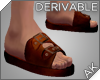 ~AK~ Leather Sandals