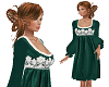 TF* Green Velvet Dress
