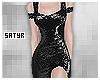 Black Glitter Gown