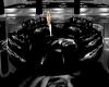 Black Rose Circle Seatin