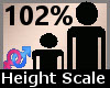 Scale Height 102% F A