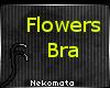 Flowers Bra V4