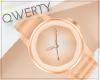 !Q! Modern Watch Gold